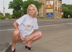 pornolia.pl - Zosia pokazuje dupcię na ulicy
